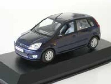 Minichamps 1:43 Ford Fiesta 5-door - blue