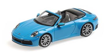 Minichamps 1:43 Porsche 911 (992) Carrera 4S - 2019 - blue