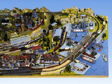 Noch Anbauteil rechts  Industriehafen 120 x 180 cm x 30