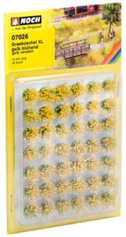 NOCH Grasbüschel XL blühend gelb 07026