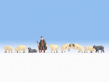 Noch Schäfer und Schafe 18210