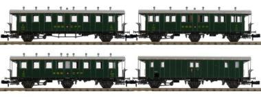 Piko N-4 tlg.Set #5 Oldtimer Personenwagen SBB 94344
