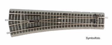 Piko PIKO A-Gleis mit Bettung Weiche-Bogen BWR  55423