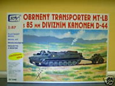 SDV Bausatz Panzer MTLB mit Kanone D44