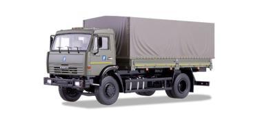 SSM LKW 1:43 KAMAZ-43253 Pr-LKW Militärfahrzeug