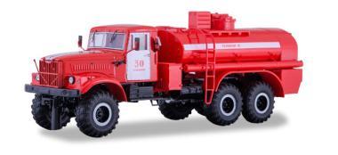 SSM LKW 1:43 KRAZ-255B1 Tanklöschfahrzeug Feuerwehr