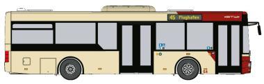 VK Modelle Stadtbus MAN NM 223.2 Midi, STW Klagenfurt Wg.63