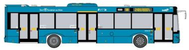 VK Modelle Stadtbus Solaris U12 VGF Frankfurt