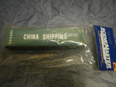 Walthers 40' HC Container CHINA SHIPPING
