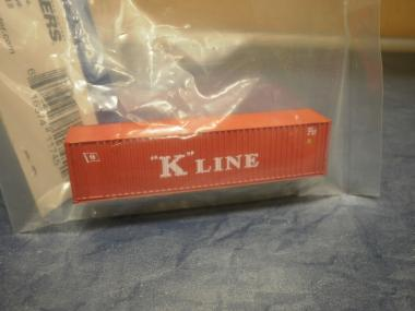 Walthers 40'-HC Container K-LINE