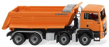 Wiking MAN TG-S M E6 Muldenkipper-LKW Meiller 4a orange 067448