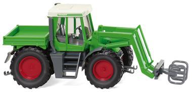 Wiking Traktor Fendt Xylon Frontlader mit Ballengreifer 038003