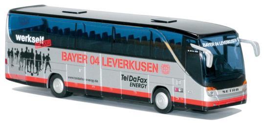 AWM Reisebus Setra S 415 HD Bayer 04 Leverkusen