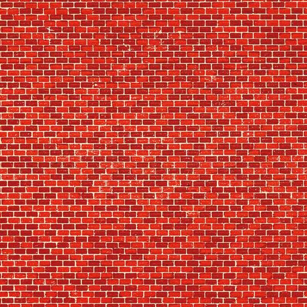 Auhagen 5 Pappen Ziegelmauer rot