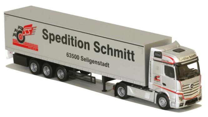 ds automodelle modellbauvertrieb awm lkw mb actros 11 bigsp ga ksz schmitt 75072 online kaufen. Black Bedroom Furniture Sets. Home Design Ideas