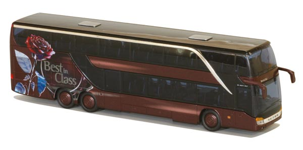 AWM Reisebus Setra S 431 DT Rose