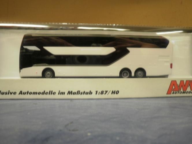AWM Reisebus Setra S 531 DT neutral weiß 11311