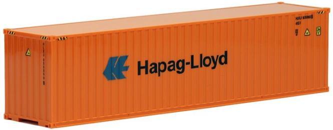 AWM SZ 40 ft Highcube Container Hapag-Lloyd orange