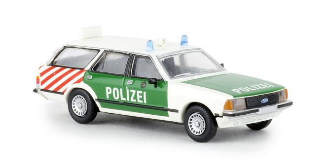 Brekina Ford Granada II Turnier Autobahnpolizei Berlin 19506
