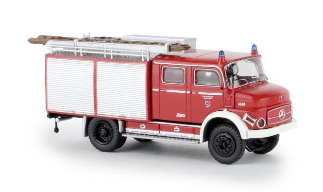 Brekina Mercedes LAF 1113 TLF 16 Feuerwehr Düsseldorf 47163