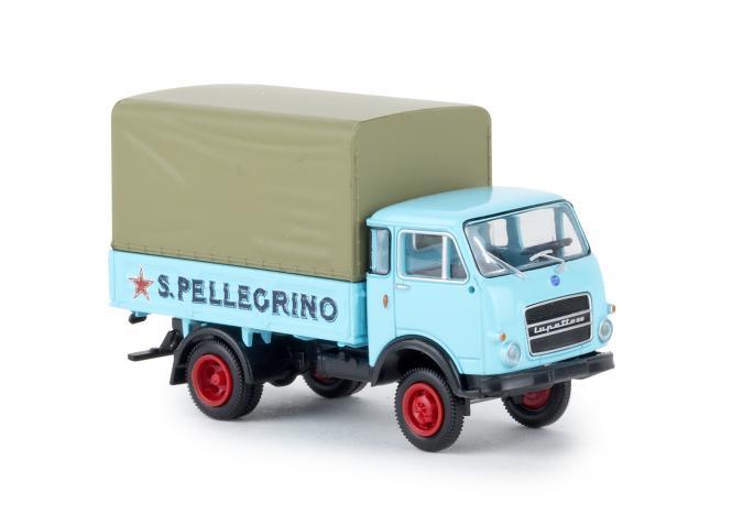 Brekina OM Lupetto Pritsche/Plane San Pellegrino 34626