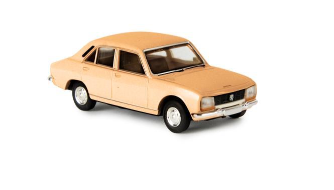 ds automodelle modellbauvertrieb brekina peugeot 504 orangebraun 29112 online kaufen. Black Bedroom Furniture Sets. Home Design Ideas