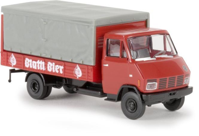 Brekina Steyr 590 Getränkeaufbau Blattl Bier 37724