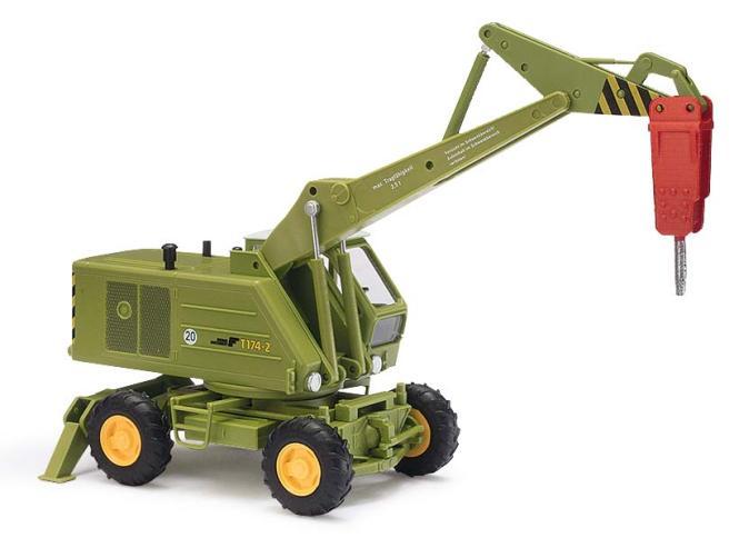 Busch  Bagger T174-2 mit Meisel 42889