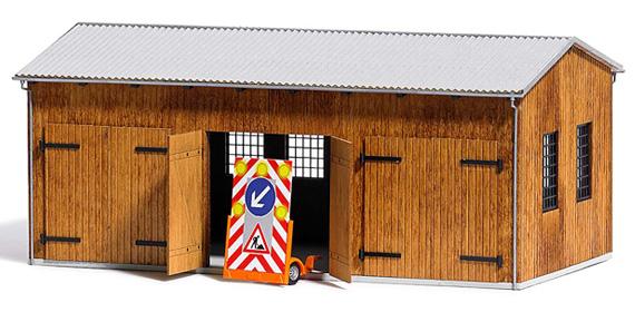 Busch Fahrzeughalle H0 1456