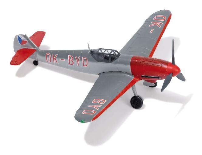 Busch Flugz. Messerschnitt Bf109 G6 CZ 25005