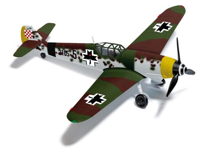Busch Flugz.Bf 109 G Kroatien H0 25019