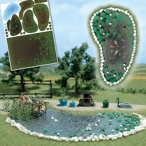 Busch Gartenteich - Set 1210