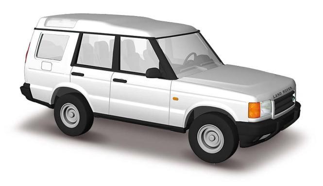 Busch Land Rover Discovery weiß 51902