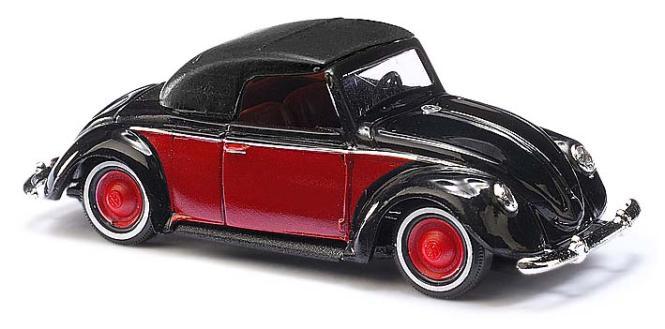 Busch PKW VW Hebmüller schwarz/rot 46717