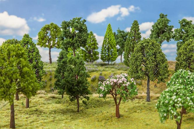 Faller 30 Laubbäume 181525