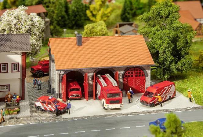 Faller Feuerwehrgerätehaus 222209