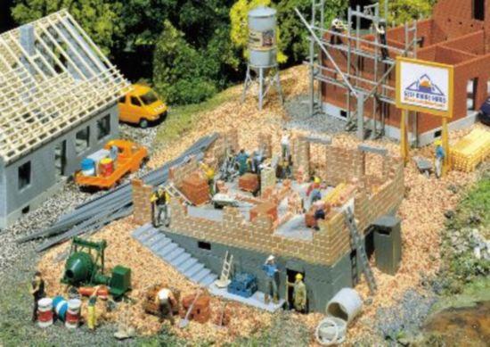 Faller Haus im Bau