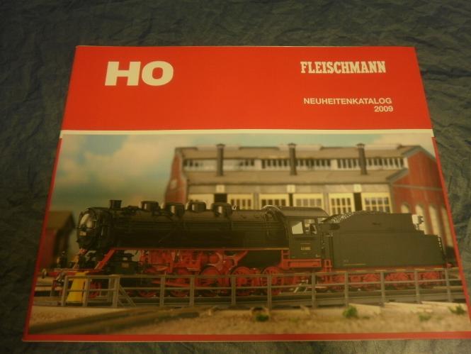 Fleischmann Neuheitenblatt Prospekt 2009
