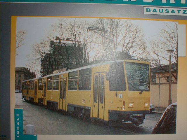 H & P 1:87 STRASSENBAHN TATRA T6/B6 BVB Berlin modern
