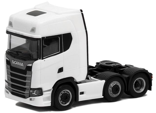 Herpa LKW Scania CS 20 HD SZM 3achs weiß