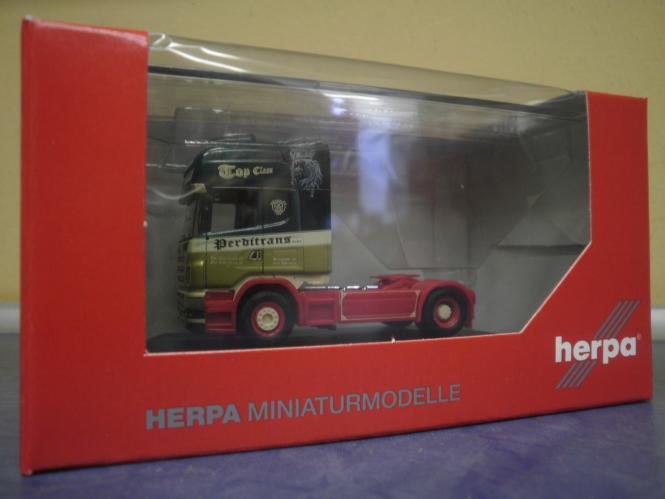 Herpa LKW Scania R Topl/Aerop SZM Perditrans