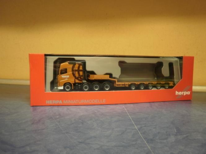 XL SZM Ingo Dinges Set 110969 Herpa LKW Volvo FH16 Glob//Aerop