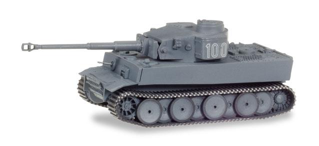 Herpa Military Panzerkampfwagen Tiger Ausf. H1, dekoriert, Russland (Nr. 100)