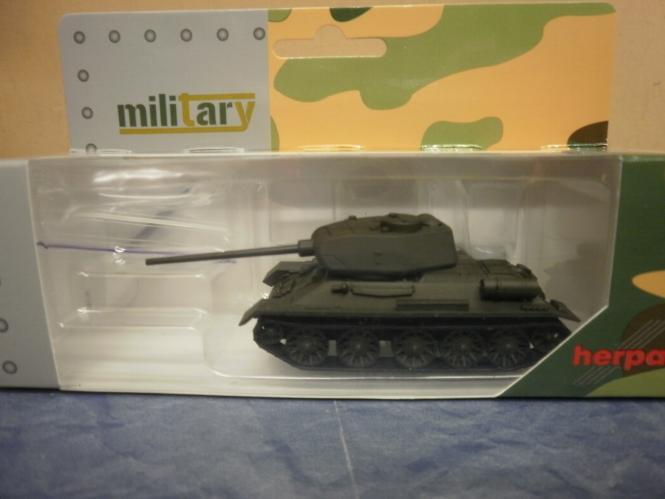Herpa Minitanks Kampfpanzer T 34 - 85 undekoriert 745574