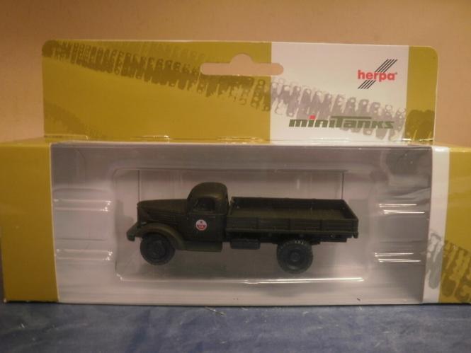 Herpa Minitanks LKW ZIL 164 Pritsche-LKW CA 744096