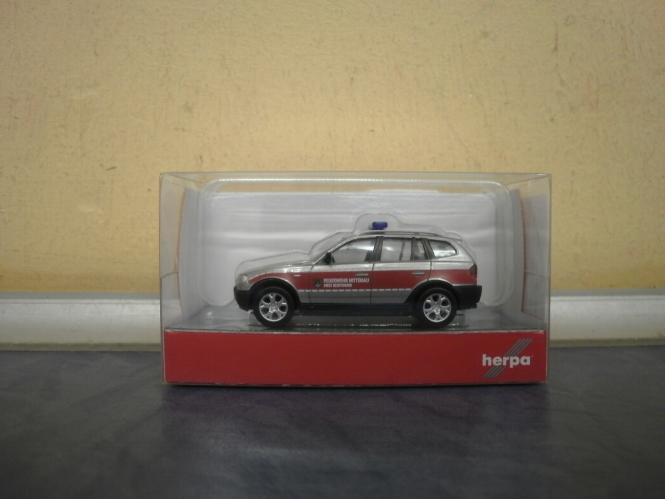 Herpa PKW BMW X3 Feuerwehr Nittenau 093262