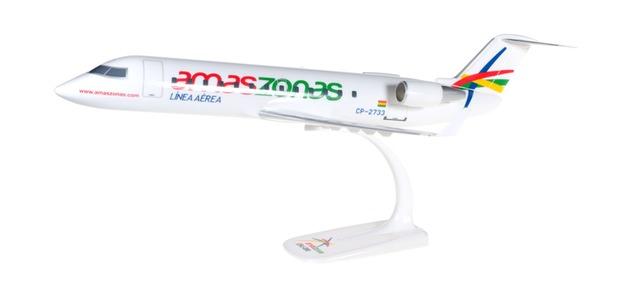 Herpa Snap Wings 1:100 CRJ-200 Amaszonas CP-2733 609685