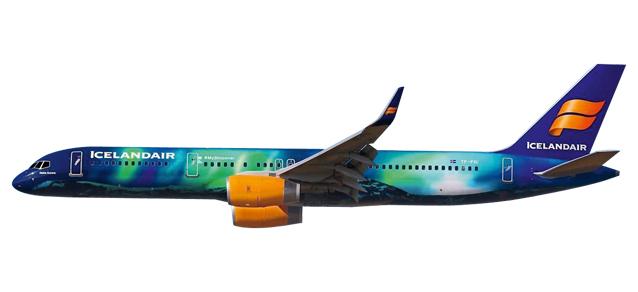 Herpa Snap Wings 1:200 Boeing 757-200 Icelandair 610735