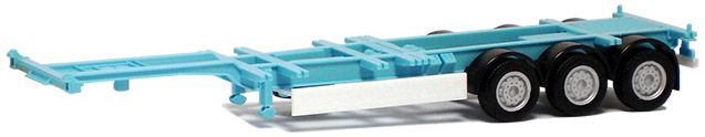 Herpa SZ 40'/45ft Highcube Trailer 3-achs Containerauflieger maersk-farbig