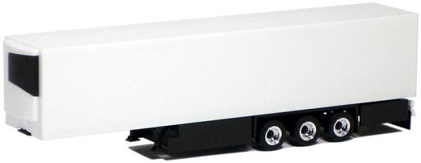 Herpa SZ Medi Euro Kühlkofferauflieger Kühl-KSZ 3a weiß schwarzes FGS
